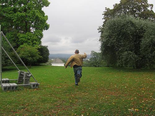 Running Away | Spo-Reflections