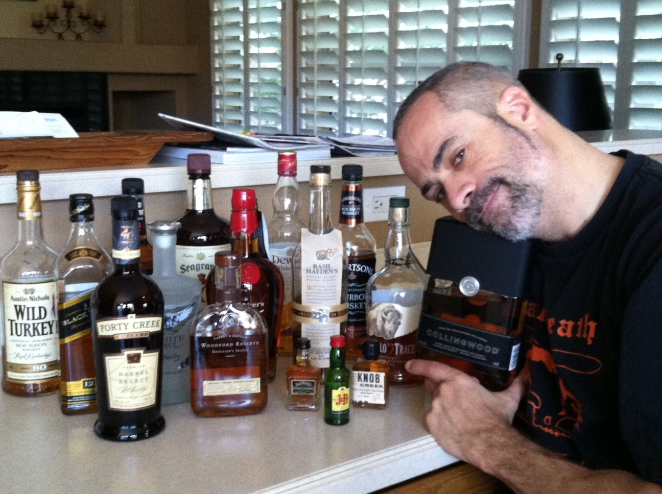 I feel a proper gentleman to wit I am developing a well stocked liquor cabinet ... & Urspou0027s Whisky bar | Spo-Reflections