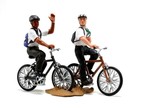 Missionaries-On-Bikes-Figurine