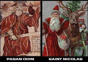 odin-and-santa-claus