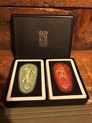 Vintage-KEM-Plastic-Playing-Cards-Greek-God-Goddess